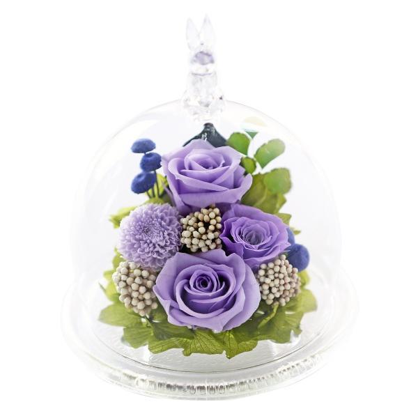 母の日 うさぎ光るバラホタル プリザーブドフラワー 誕生日プレゼント ギフト 還暦祝い 退職祝い 女性 結婚記念日 バラ ギフト|a4s|23