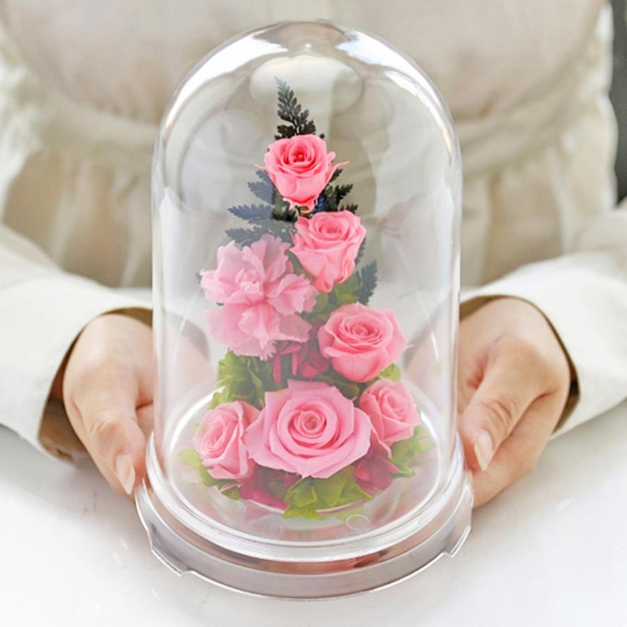 プリザーブドフラワー 誕生日 プレゼント 【ローズアイ】 花 ギフト 光るバラホタル 結婚記念日 女性 名入り 還暦祝い 退職祝い ギフト|a4s|27