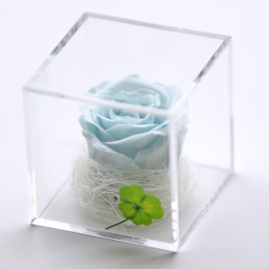 プリザーブドフラワー  誕生日 プレゼント 「キューブ」 光るバラ 花 ギフト 名入り 誕生日プレゼント 還暦祝い 女性 結婚記念日 退職祝い|a4s|22