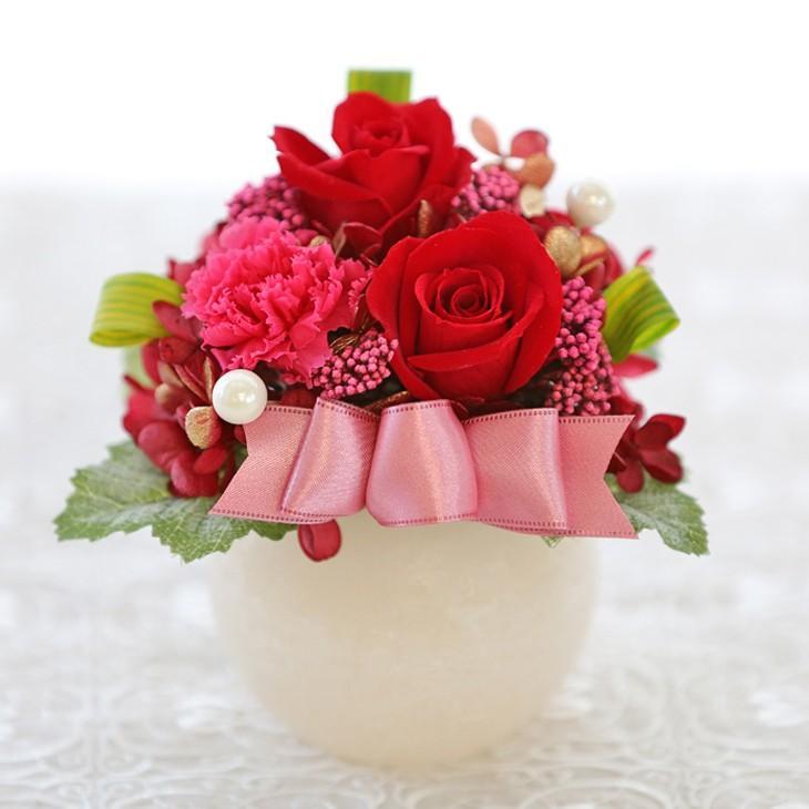 プリザーブドフラワー 誕生日 プレゼント 【LEDプリザ】 花 ギフト 女性 還暦祝い 結婚記念日 退職祝い ギフト|a4s|19