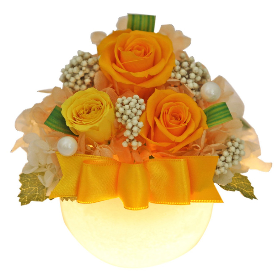 プリザーブドフラワー 誕生日 プレゼント 【LEDプリザ】 花 ギフト 女性 還暦祝い 結婚記念日 退職祝い ギフト|a4s|17