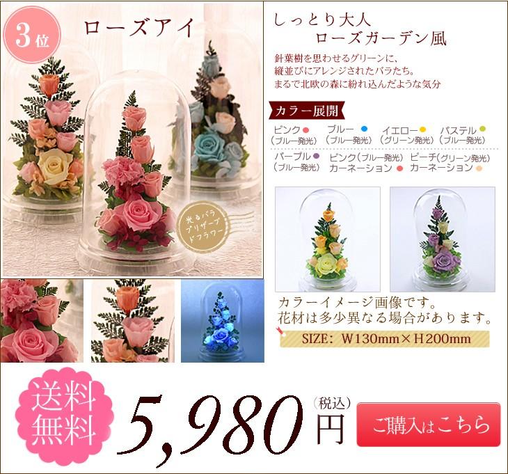 第3位  ローズアイ 5980円 送料無料