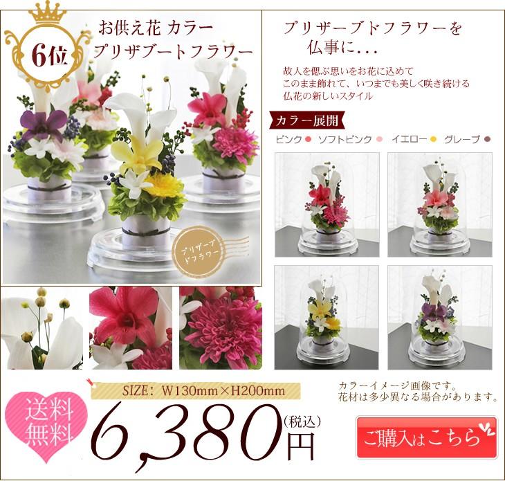 お供え花カラー ランキング第6位