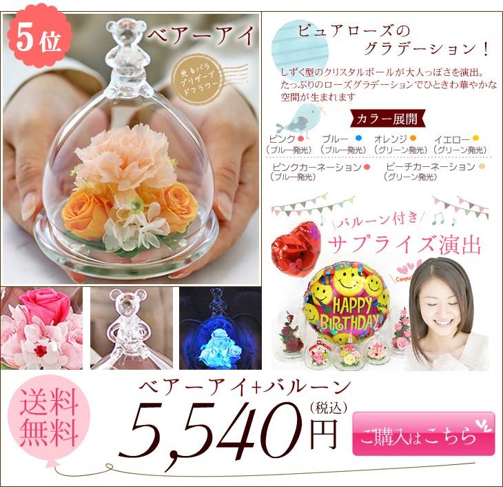 ベアーアイ+バルーン 5440円