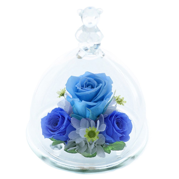 ベアーアイ光るバラホタル 結婚記念日 プリザーブドフラワー バラ 誕生日プレゼント 結婚祝い 還暦祝い 女性 ギフト プレゼント|a4s|19