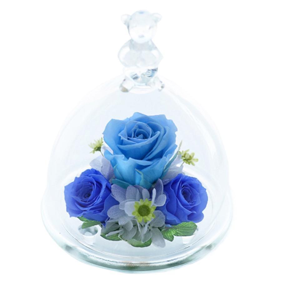 プリザーブドフラワー 誕生日 プレゼント 【ベアーアイ】 花 ギフト 光るバラホタル 結婚記念日 還暦祝い 女性 誕生日プレゼント 結婚祝い ギフト|a4s|19