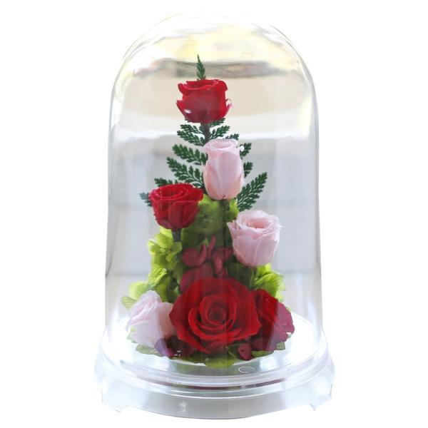 プリザーブドフラワー PR バラ 誕生日プレゼント 結婚記念日 プレゼント 還暦祝い 退職祝い 女性 ギフト 結婚祝い 贈り物|a4s|06