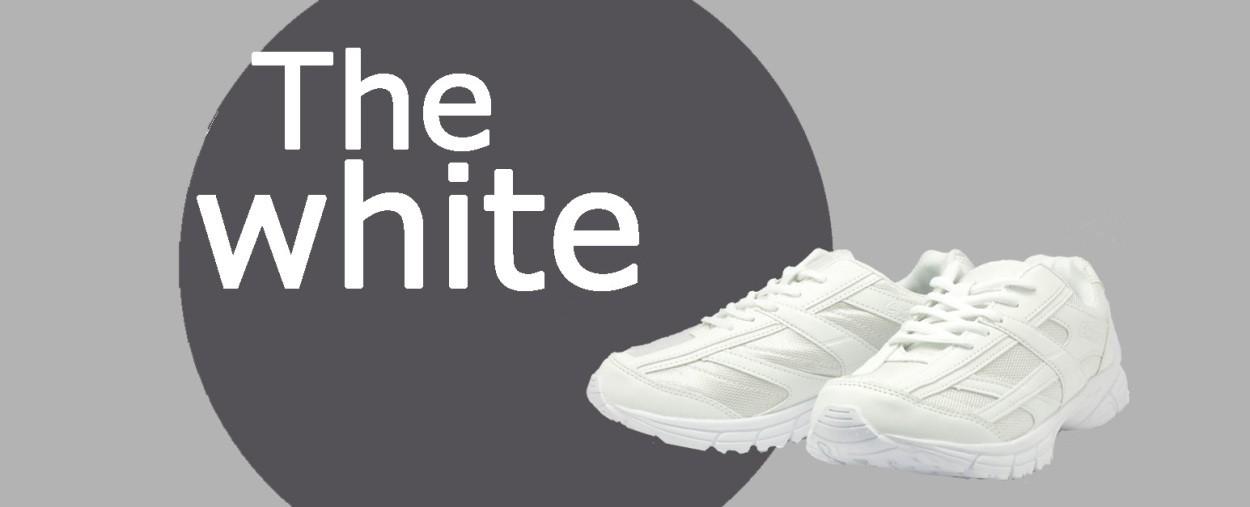 定番 白靴
