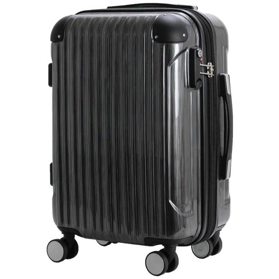 スーツケース 機内持ち込み Sサイズ 小型 軽量 拡張 ジッパータイプ ファスナータイプ 双輪 1年保証 siffler シフレ serio B5851T-S aaminano 13