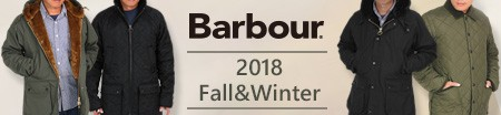 BARBOUR バブアー 2018 Fall Winter