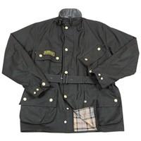BARBOUR バブアー インターナショナルジャケット ブラック A007