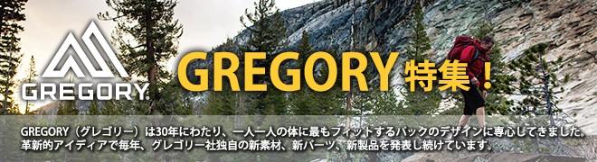 GREGORY グレゴリー特集