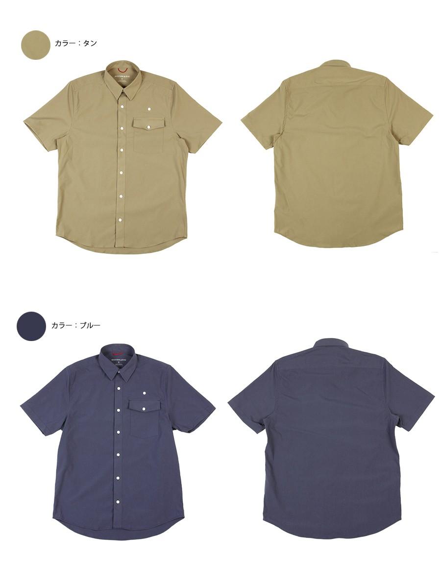 WESTERN RISE Teckショートスリーブシャツ A&F直営店別注モデル