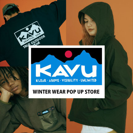HAVE A KAVU DAY! FALL&WINTER 2021