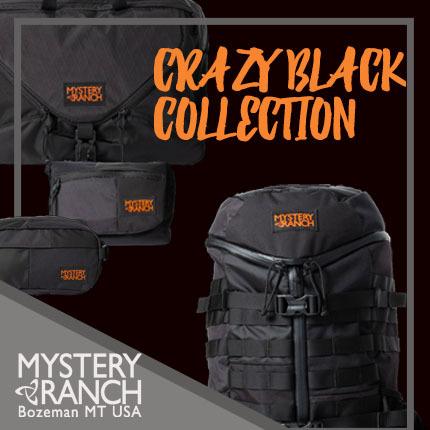 MYSTERY RANCH(ミステリーランチ)クレイジーブラック