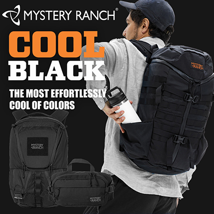 MYSTERY RANCH COOL BLACK