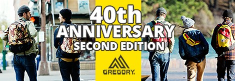 GREGORY 40周年記念モデル第二弾