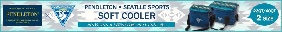 PENDLETON × SEATTLE SPORTS ソフトクーラー