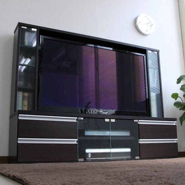 テレビ台 ハイタイプ 壁面家具 リビング壁面収納 50インチ対応 TV台 テレビラック ゲート型AVボード tcp356|abiles|20