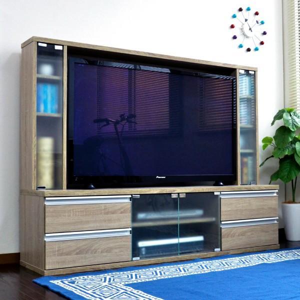 テレビ台 ハイタイプ 壁面家具 リビング壁面収納 50インチ対応 TV台 テレビラック ゲート型AVボード tcp356|abiles|21