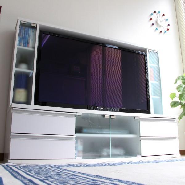 テレビ台 ハイタイプ 壁面家具 リビング壁面収納 50インチ対応 TV台 テレビラック ゲート型AVボード tcp356|abiles|22