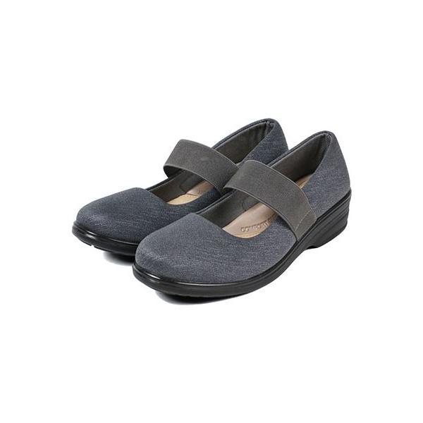 軽量 パンプス 黒 ラウンドトゥ 痛くない 柔らかい 歩きやすい 履きやすい 蒸れにくい 疲れにくい ウェッジソール おしゃれ フォーマル レディース 靴 htc849 ablya 12