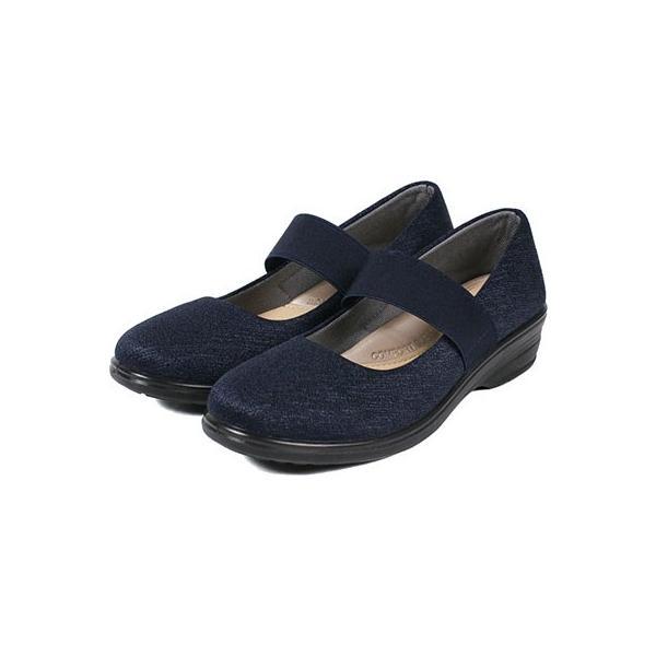 軽量 パンプス 黒 ラウンドトゥ 痛くない 柔らかい 歩きやすい 履きやすい 蒸れにくい 疲れにくい ウェッジソール おしゃれ フォーマル レディース 靴 htc849 ablya 13