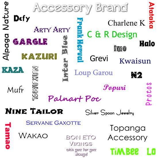 Accessory Brand(アクセサリーブランド)
