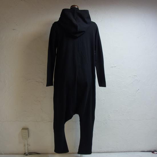 オリガミZIPPERジャンプスーツ ブラック