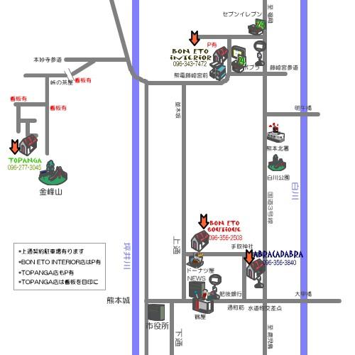 BON ETO Map