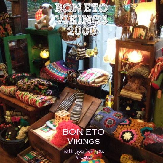 BON ETO Vikings店内ディスプレー