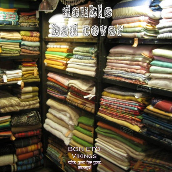 Bed Cover-W-(ダブルベッドカバー)