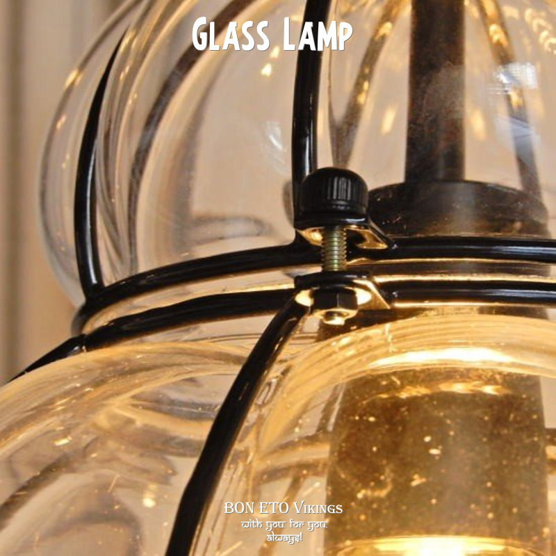 Glass Pendant Lamp(ガラスランプ)
