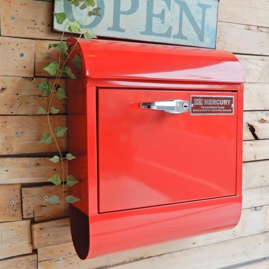 マーキュリー ハンドロックメールボックス