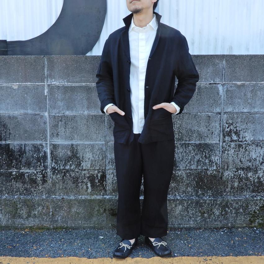 LOLO(ロロ) 麻xビスコース イージーパンツ LP-165