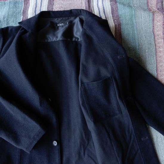 LOLO(ロロ) 綿ウール アンコン シャツジャケット LJ-139