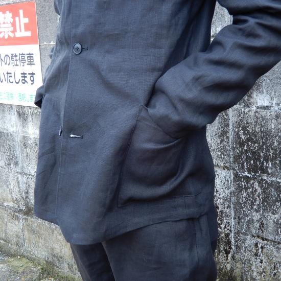 LOLO(ロロ) リネン アンコン シャツジャケット LJ-141