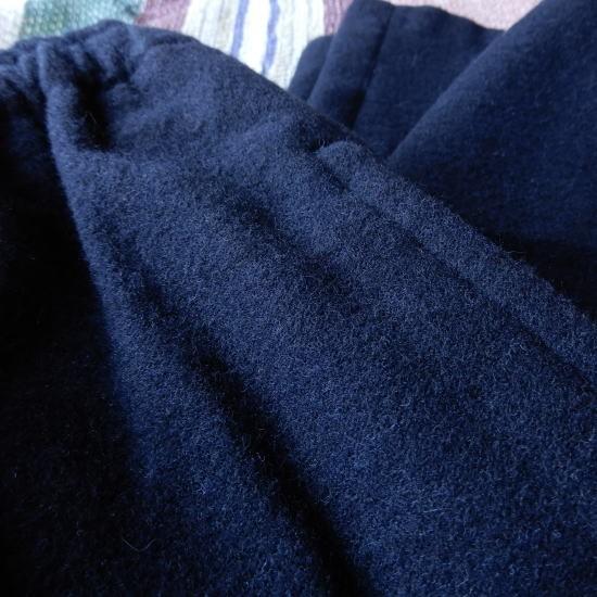 LOLO(ロロ) 綿ウール 裏付き イージーパンツ LP-169