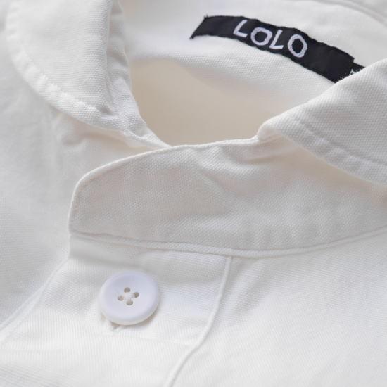 LOLO(ロロ) 定番プルオーバー オフホワイト LS-3