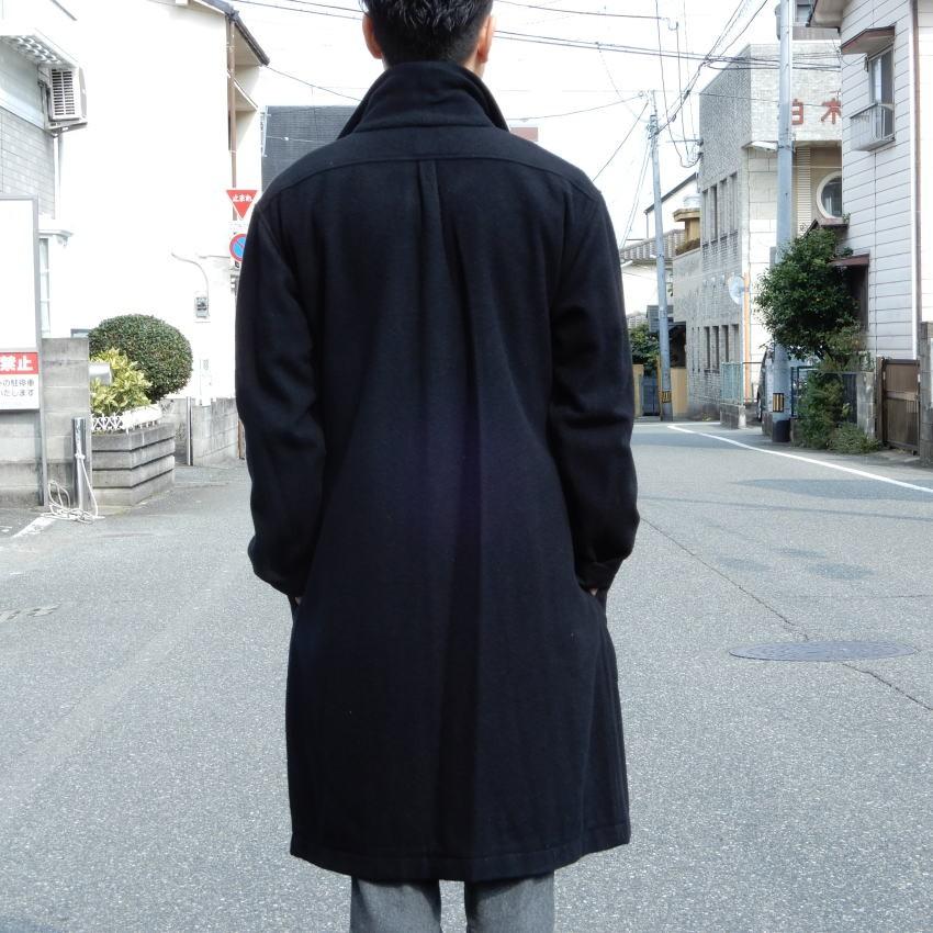 LOLO(ロロ) モッサ裏なしコート ブラック LO-62