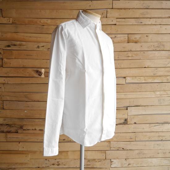 LOLO(ロロ) 定番比翼シャツ オフホワイト LS-89
