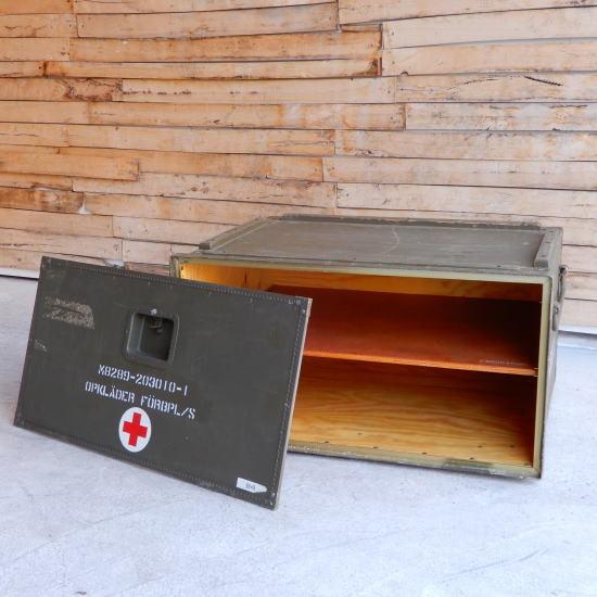 スウェーデン軍 メデイカルウッドボックス