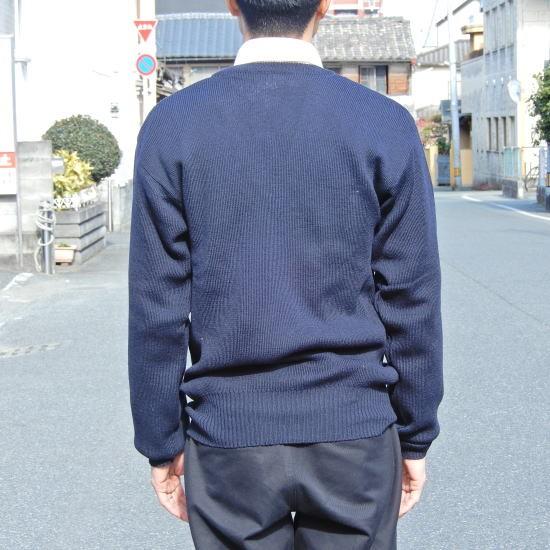 イタリア軍 Vネックセーター