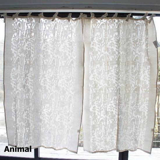 topangaカットワークカーテン200 (全2種)