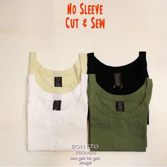 No Sleeve Cut Sew(ノースリーブカット)