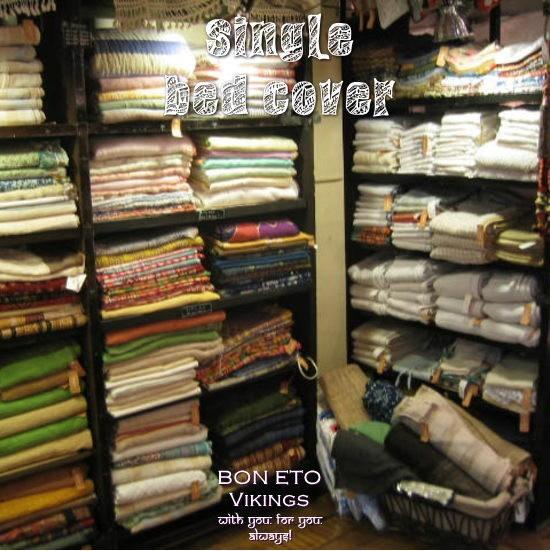 Bed Cover-S-(シングルベッドカバー)