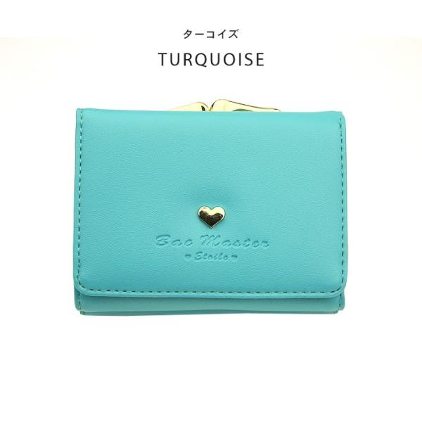 財布 レディース メール便送料無料 コンパクト 二つ折り 革 ミニウォレット|absolawake|21