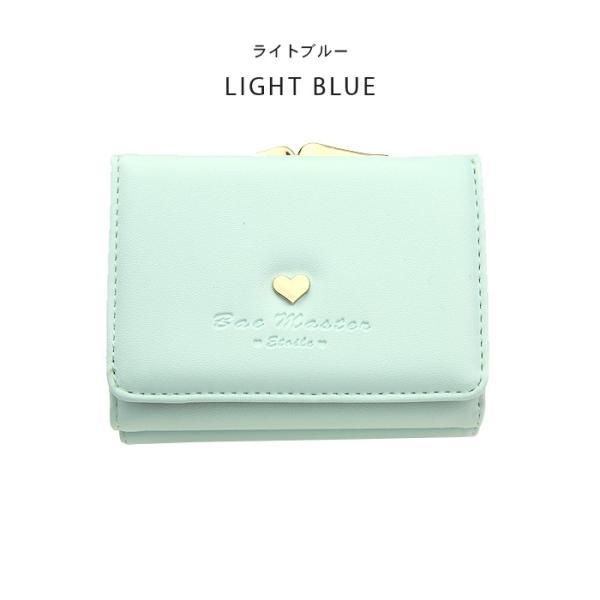 財布 レディース メール便送料無料 コンパクト 二つ折り 革 ミニウォレット|absolawake|15