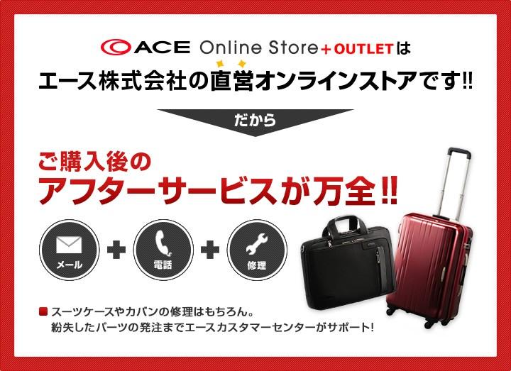 ACE Online Storeはエース株式会社の直営オンラインストアです!!だからご購入後のアフターサービスが万全!!
