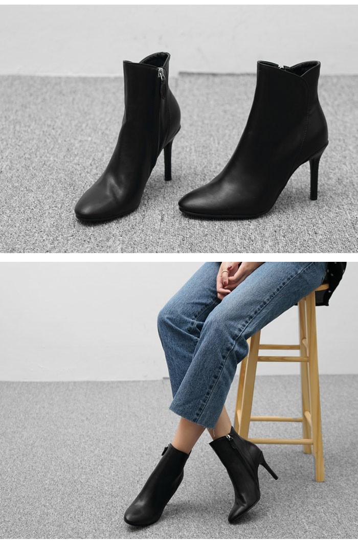 アンクルブーツ レディース 黒 大きいサイズ/ショートブーツ レディース きれいめ コーデ/靴 レディース ブーツ